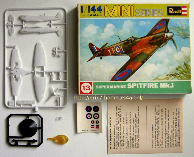 Erix7' scale model gallery < Revell 1/144 WW2 series >